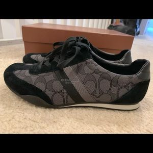 Coach sneakers. 8.5